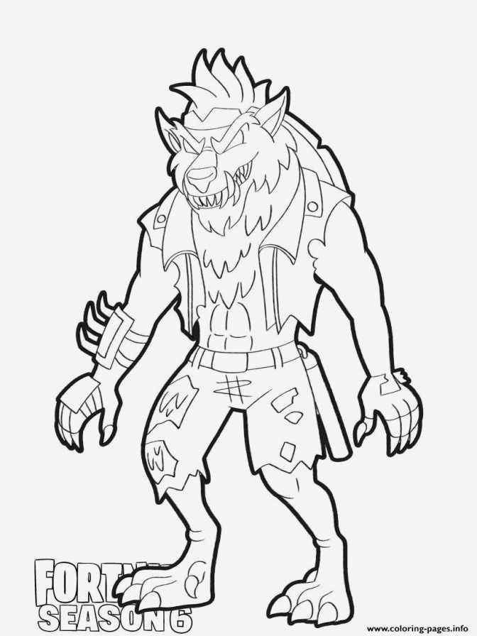 15 Skull Trooper Coloring Pages Fortnite Coloring Pages Dire Wolf Fortnite
