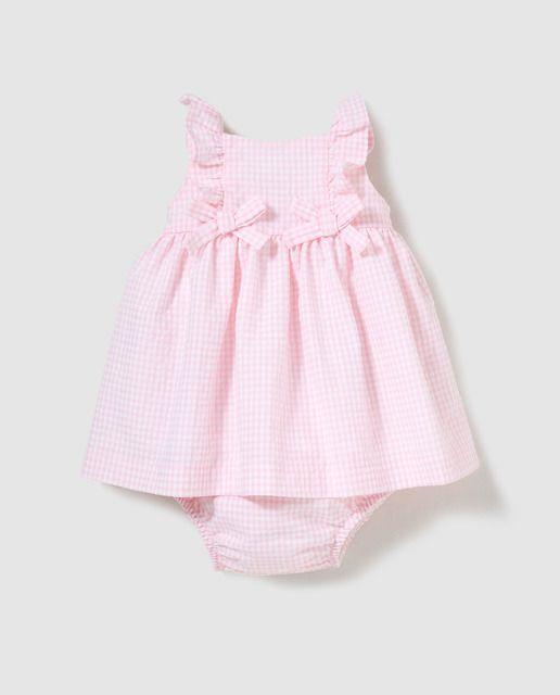 40b20545c Vestido de bebé niña Dulces con cuadros | Everything kids | Cute ...