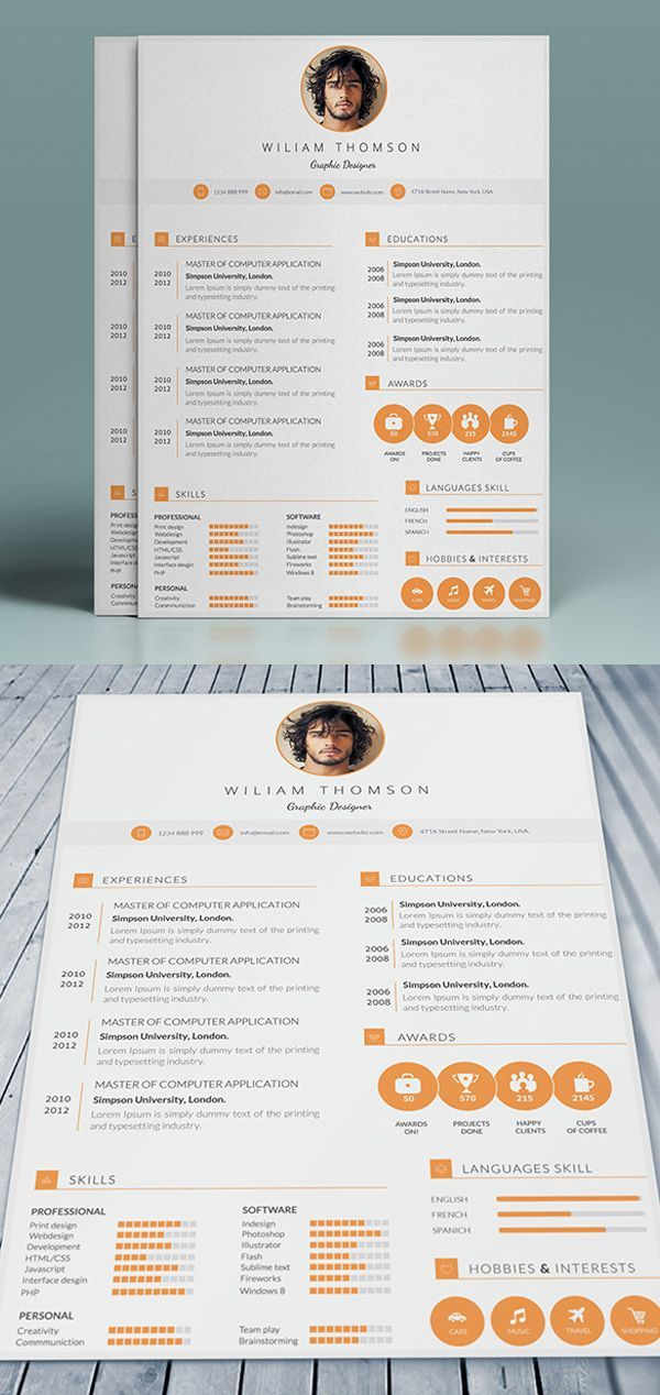 25+ unique Professional cv template free ideas on Pinterest Cv - professional cv template
