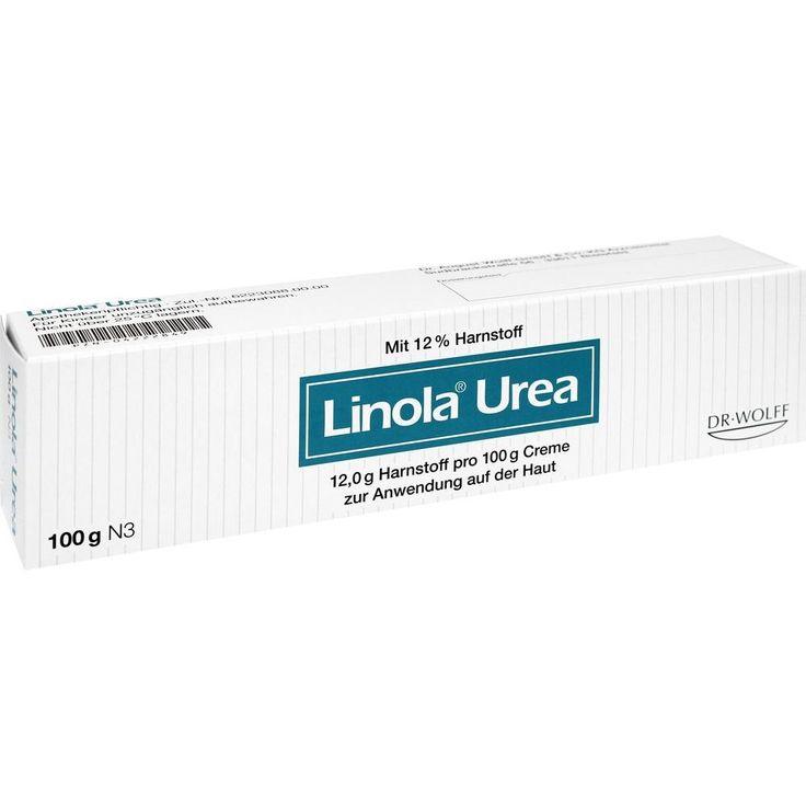 LINOLA UREA Creme: Linola Urea mit Harnstoff zur Behandlung trockener Haut, z.B. Neurodermitis oder Altershaut sowie von Ichthyosen…