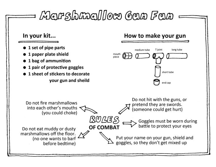 pvc pipe marshmallow gun instructions