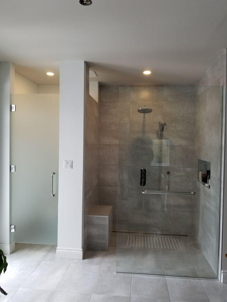 28 best douche sans porte images on Pinterest - prix baignoire a porte