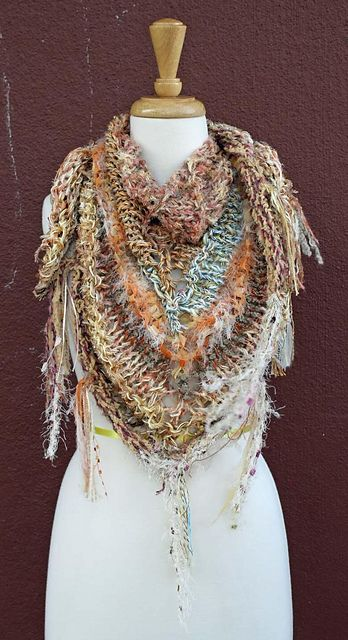 1023 besten Xals-shawls-chales Bilder auf Pinterest | Ponchos ...