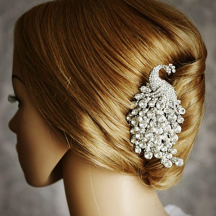 Dorothy Large Vintage Inspired Wedding Hair Comb Art