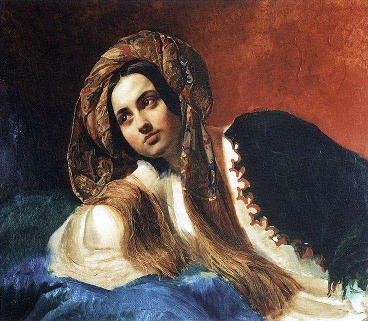 Турчанка. 1837-1839. Карл Павлович Брюллов