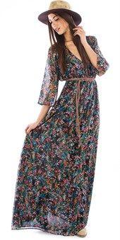 Αέρινο φλοράλ φόρεμα