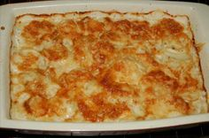 Scalloped Potatoes With Heavy Cream And Cheese Recipe - Food.com - 205210