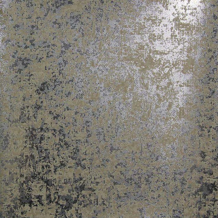 822 best home design wallpaper images on pinterest for Silver wallpaper for walls