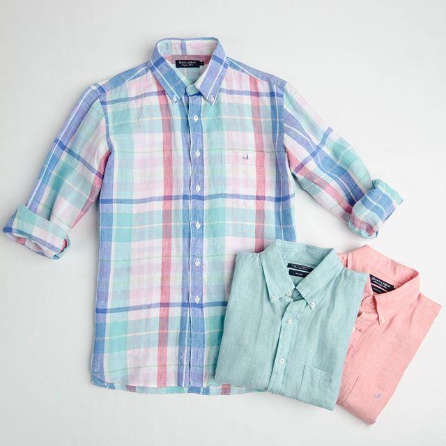 Camisas de lino, lisas o con diseño... Ven por la tuya!  #savillerow #savillerowofficial #Man #look #fashion #Camisas #SS17