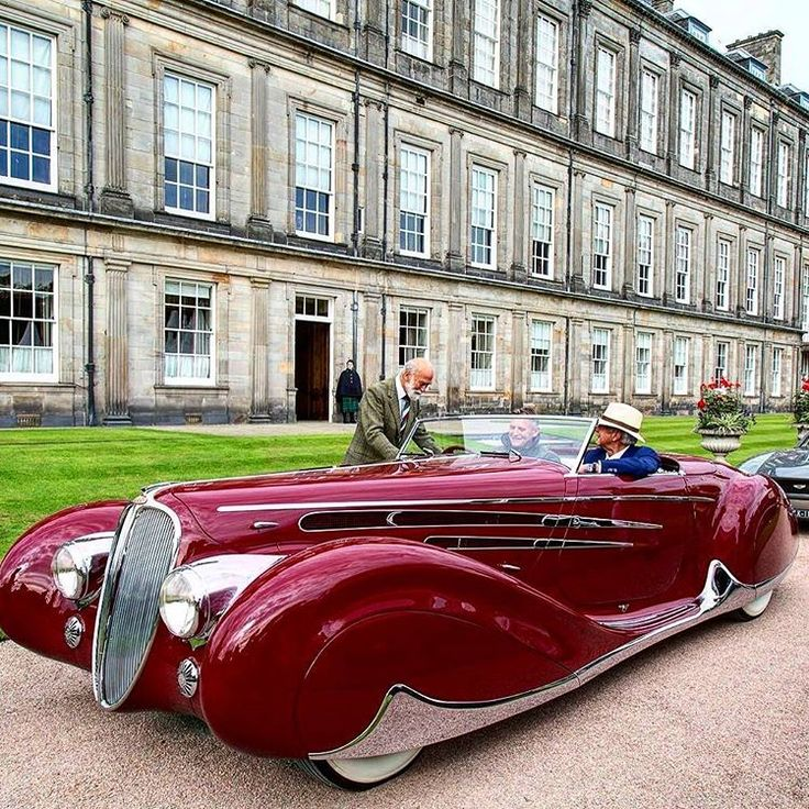 One of only two built, this V-12 Delahaye 165, with open coachwork by Figoni & Falaschi, was chosen by the French Government to represent France at the 1939 New York World's Fair, where it caused a sensation. Unfortunately it looked quite differently when Peter Mullin found it in the 1980's at a junkyard in Fresno, California. After years of meticulous restoration this automotive masterpiece was shown at all major Concours events, to include the Palace of Holyroodhouse Concours d'Elegance in…