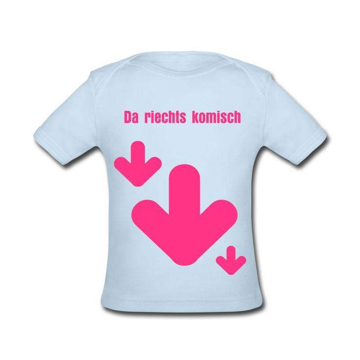 Witziges Shirt für Babies ab 3 Monate mit lustigem Spruch ...
