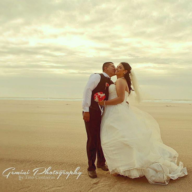 sexy wedding photo ideas - Beach makes everything romantic