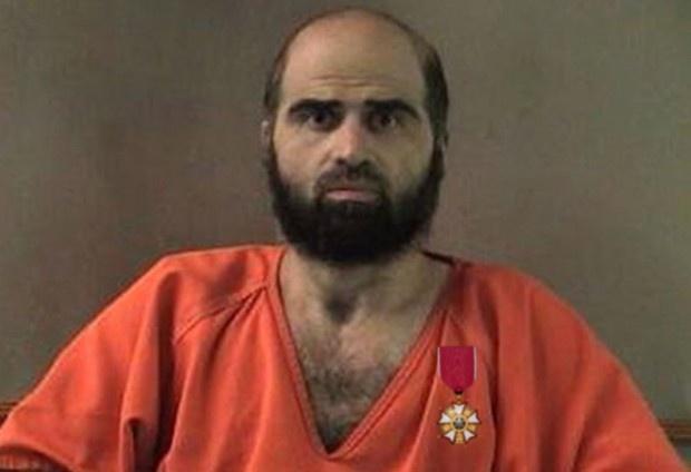 Alleged Fort Hood Shooter Nidal Hasan Receives Promotion, Legion Of Merit  (Unbelievable)