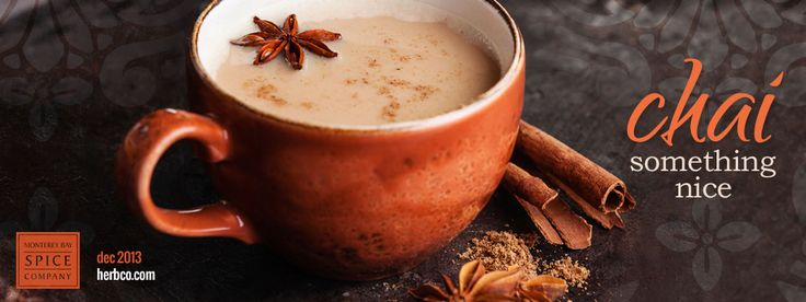 """[ Info: Chai Something Nice ] Chai, also called masala chai, is a distinctive beverage that incorporates a variety of warming spices. Although it is enjoyed throughout the world, chai originates from India where it is widely sold prepackaged in Indian grocery markets or freshly made by street vendors called chai """"wallahs."""" Generally speaking, chai is composed of four basic ingredients: black tea, milk, a sweetener and spices. ~ from Monterey Bay Spice Company"""