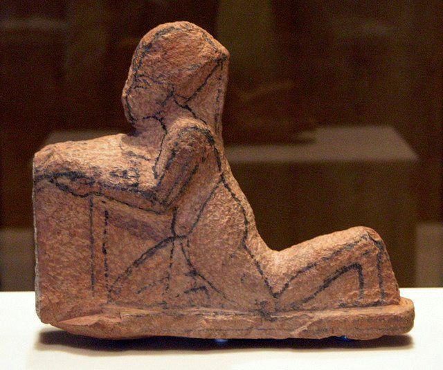 Ancient egyptian art osisris statue