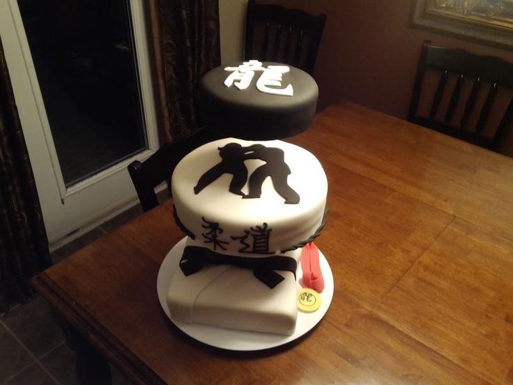 Dragons Judo Club cake