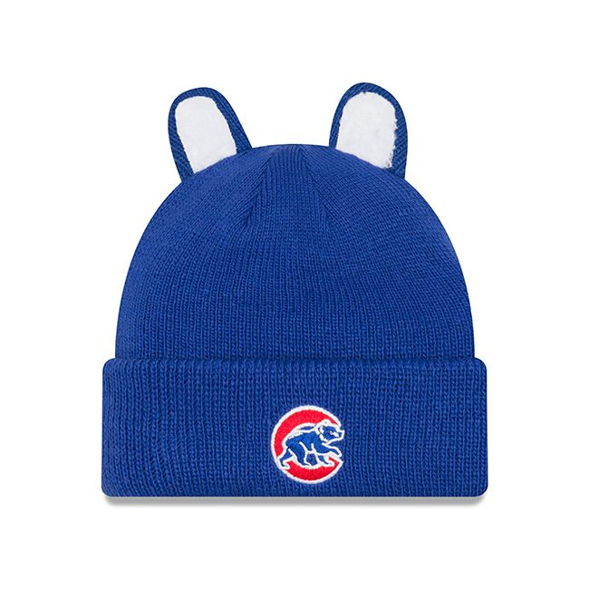 Chicago Cubs Cozy Cutie Royal Beanie by New Era at SportsWorldChicago.com  #ChicagoCubs #Cubs #FlyTheW #MLB #ThatsCub
