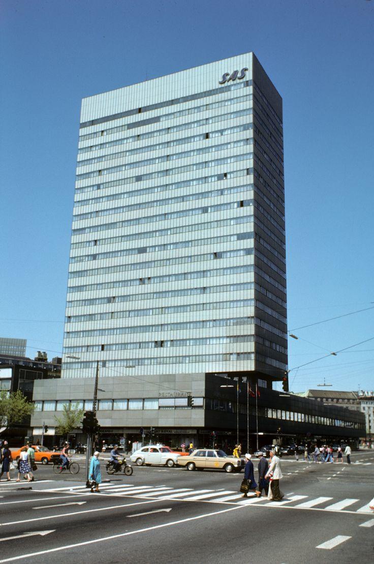 SAS building in Copenhagen, ArneJacobsen