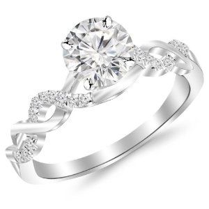 14k metal stamp with re sizable quality. Pave diamond #engagement ring under 1000.