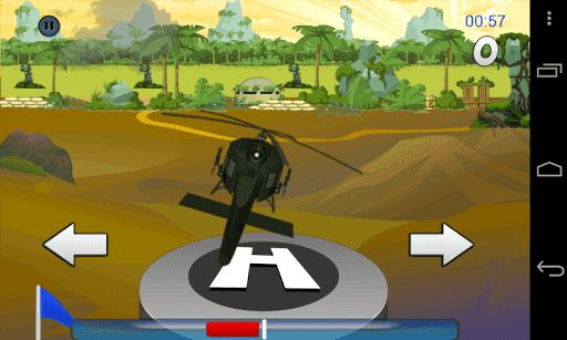 This USA Army Chopper game is a helicopter 3d flight landing simulator. This is all about focus and strategy. You will be the one controlling the helicopter flight sim. In this game, the helicopter is about to land, make sure that you balance its landing. If you move it more to the left or right, the helidroid will explode! <p>This is one exciting game but you need to be strategic. Controlling the police helicopter in landing mode needs thorough concentration!<p>USA Army Chopper game…