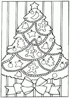 100s of  Christmas colouring pages here  - print 6 or 7 and staple them together to create a great boredom busting colouring book for the little ones in your life...