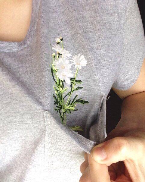 Идея рисунка на футболке.