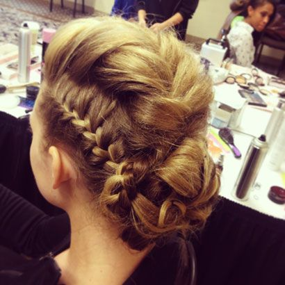 Sophisticated Braided Mohawk Hairstyle..                                                                                                                                                                                 More