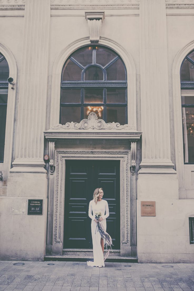A Chic Inner City Wedding by Jessica Photography - Paper & Lace.  Gown by Nicola Dawson Design, Auckland, NZ