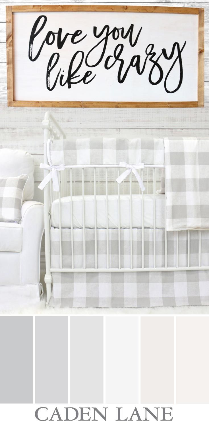 This is the color palette for my baby's room...I adore this rustic farmhouse look! <3 <3 <3