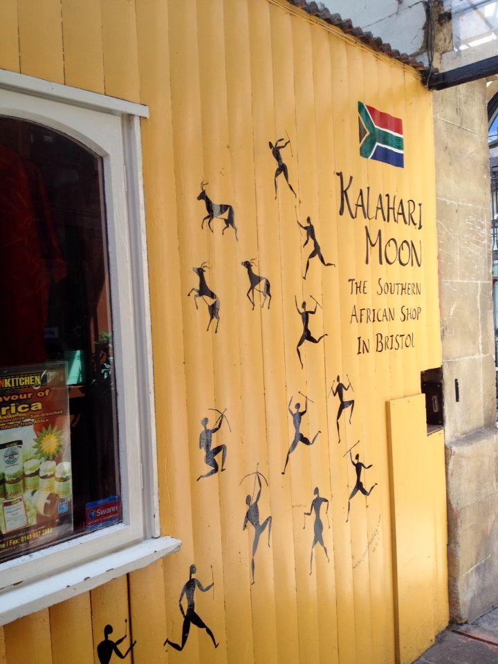 Kalahari Moon, the southern African shop, St Nicholas Market Bristol