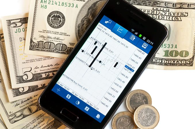 forex trading by mobile phone and money