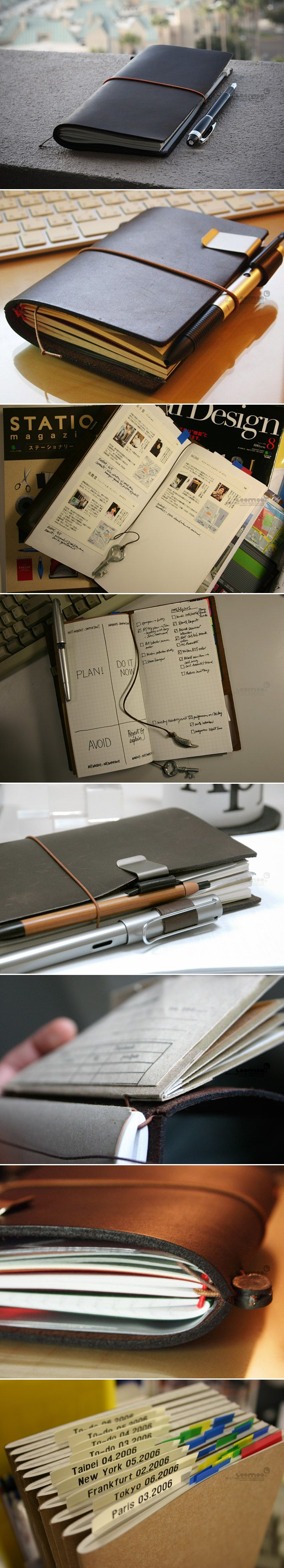 INFMETRY:: Midori Traveler's Notebook - Office Supplies - Home
