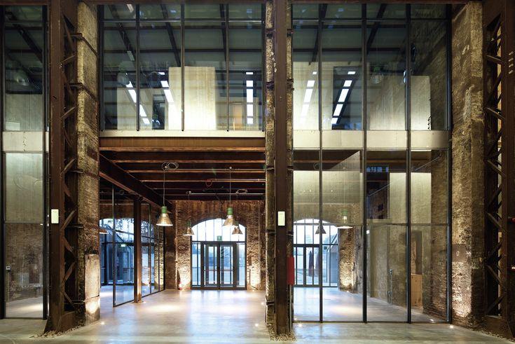 Gallery - Technopole for Industrial Research Shed #19 / Andrea Oliva Architetto - 3 ruimte loft industrieel oudnieuw doorzicht interieur