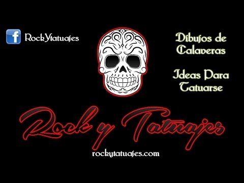 Dibujos de Calaveras - Ideas para Tatuarse - Rock Metal y Tatuajes