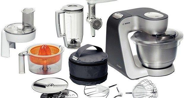 Bosch MUM56340 Styline Testbericht- Küchenmaschine Test