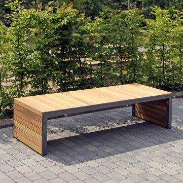 Linares Bench. Length: 2004mm or 3000mm. Width: 450mm, 800mm, 1200mm. Height…