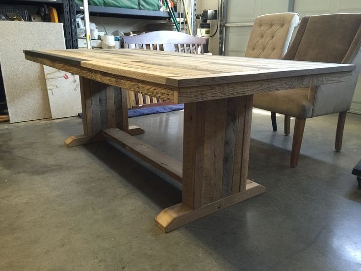 25 best ideas about Oak dining table on Pinterest Oak  : f53dd73c57cc40629b2ef6c55ab0b19b from www.pinterest.com size 736 x 552 jpeg 62kB