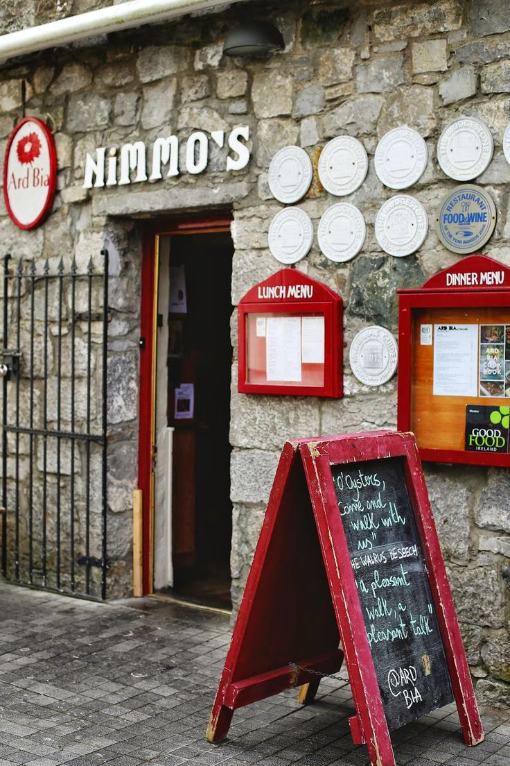 Where to eat in Galway, Ireland: Ard Bia at Nimo's. #travel #ireland