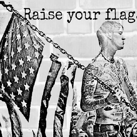raise your flag machine gun
