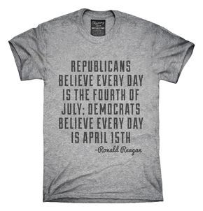 4th Of July Ronald Reagan Quote T-Shirts, Hoodies, Tank Tops