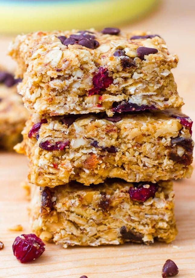 These PB Trail Mix Bars are the perfect post-workout snack.
