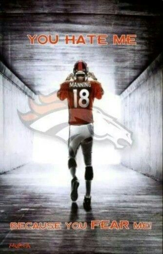 Denver broncos Peyton Manning The sheriff .