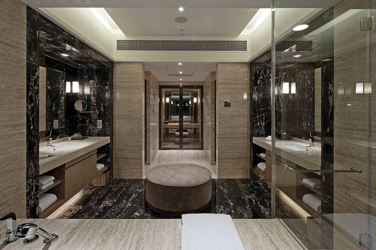 Italian Portoro Marble Bathroom 1220x2440x3 Mm Pvc Panel 100 Waterproof No Formaldehyde Dream Bathrooms Luxury Bathroom Bathroom Interior Design