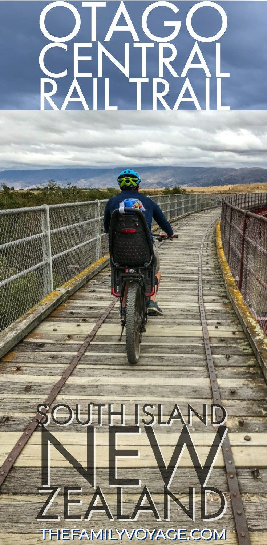 Bike The Otago Central Rail Trail New Zealand Travel South