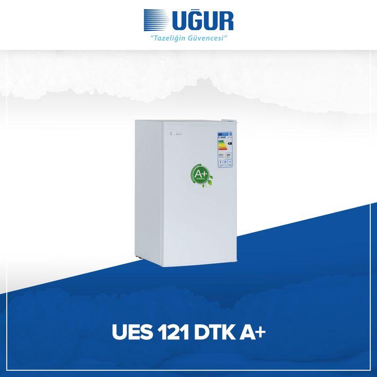 UES 121 DTK A+ birçok özelliğe sahip. Bunlar; Mekanik ısı kontrol sistemi, ayarlanabilir ayak, Yönü değiştirilebilir kapı, gömme kapı tutamağı. #uğur #uğursoğutma
