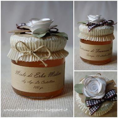 vasetti di miele - Ste Creazioni
