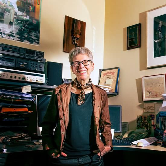 Just an observation...does this person resemble Orville Rede nbacher or what? Terry Gross and the Art of Opening Up