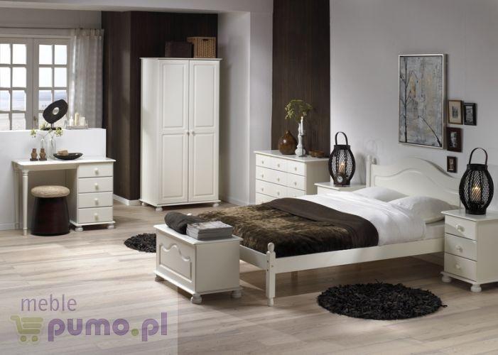 Steens biała romantyczna sypialnia Richmond - We dwoje