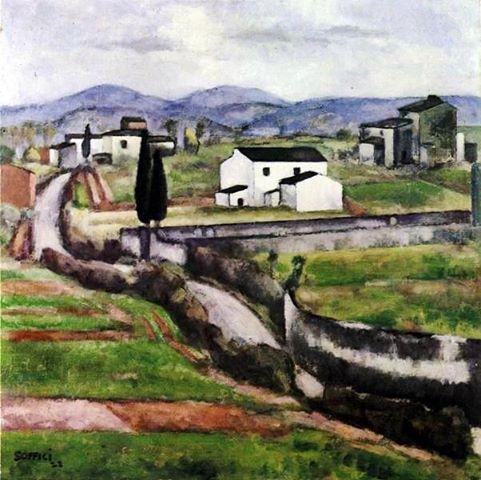 Ardengo Soffici - Il Concone, 1922