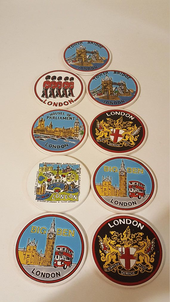 Check out this item in my Etsy shop https://www.etsy.com/ca/listing/566823494/vintage-london-coasters-retro-british